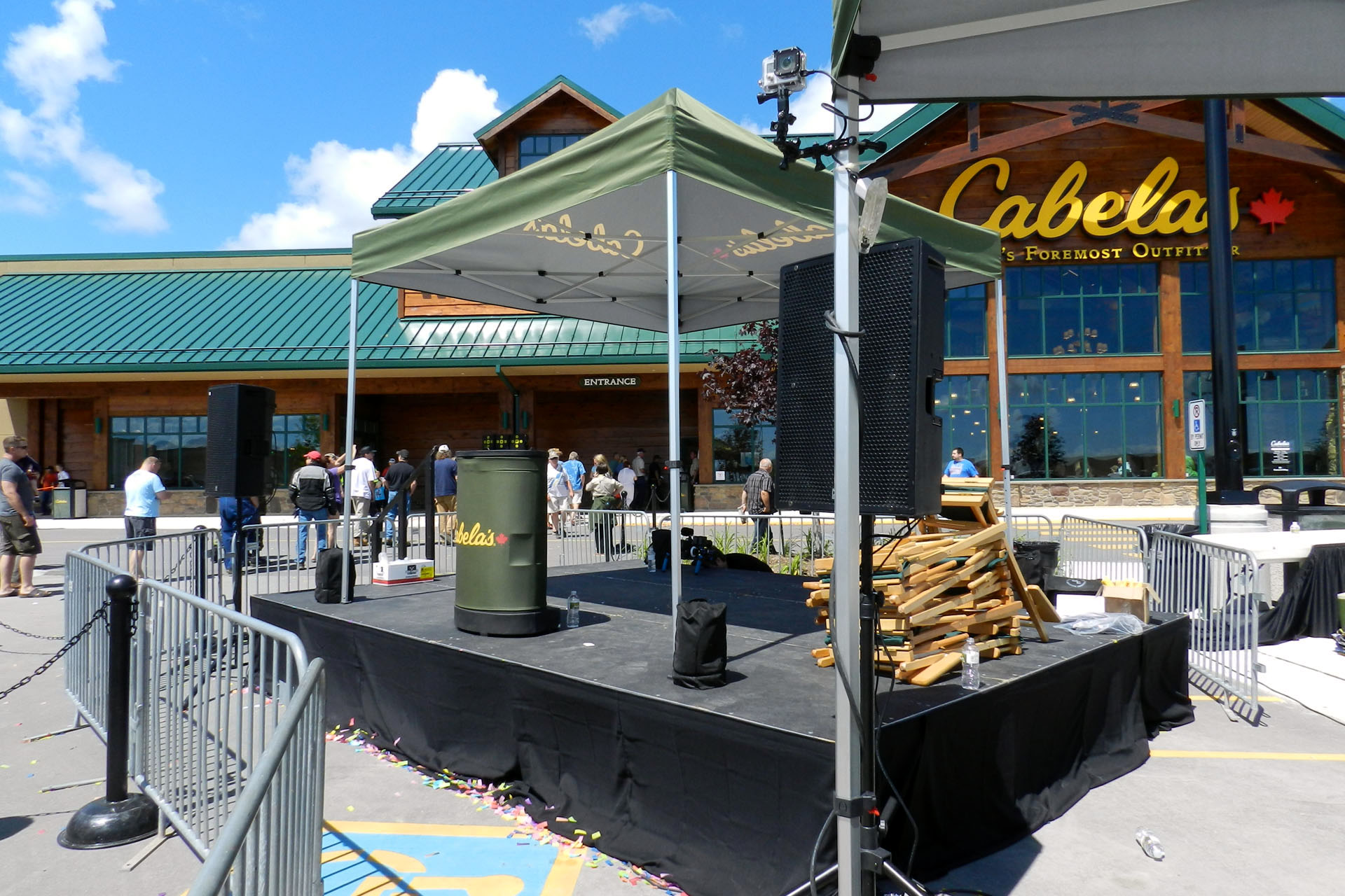 Cabelas Barrie - Grand Opening